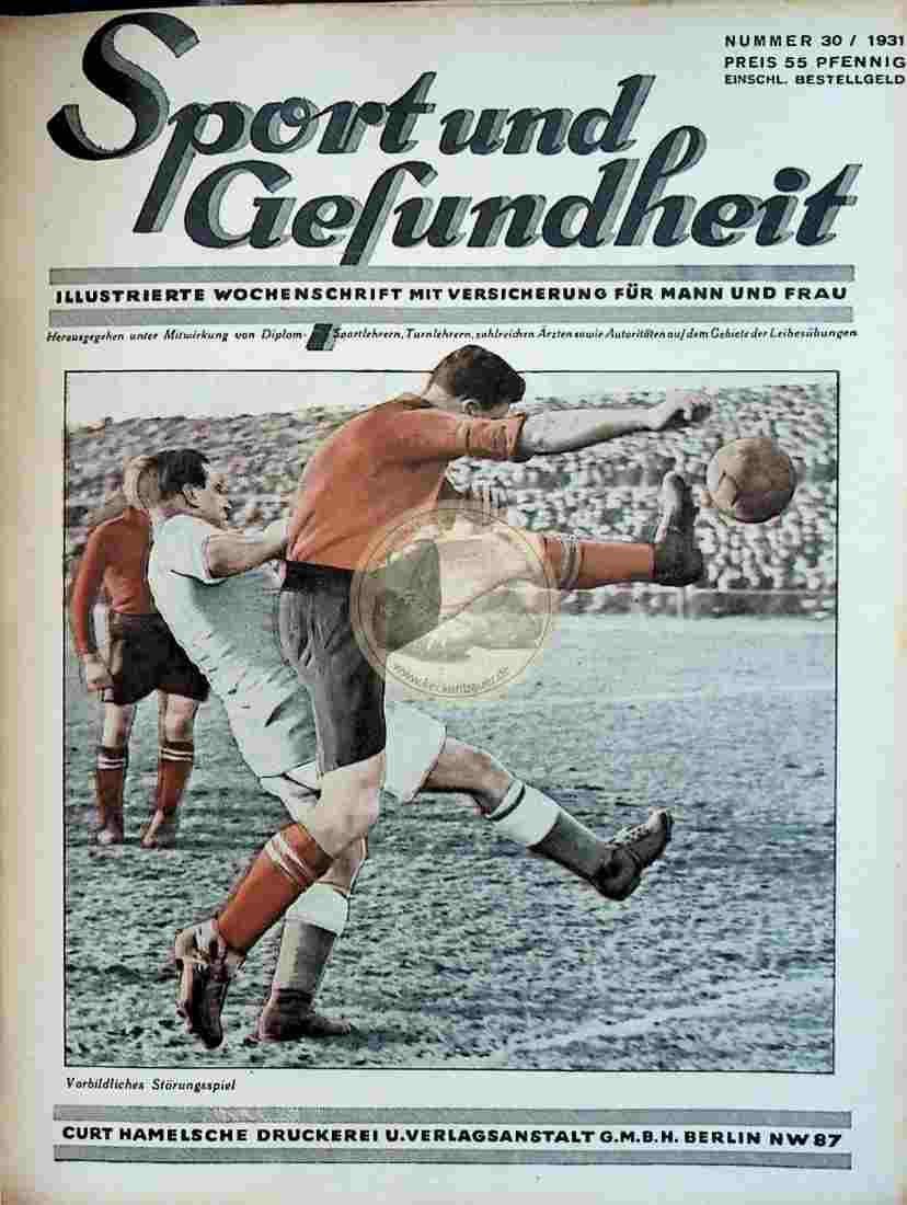 1931 Sport und Gesundheit Nr.30