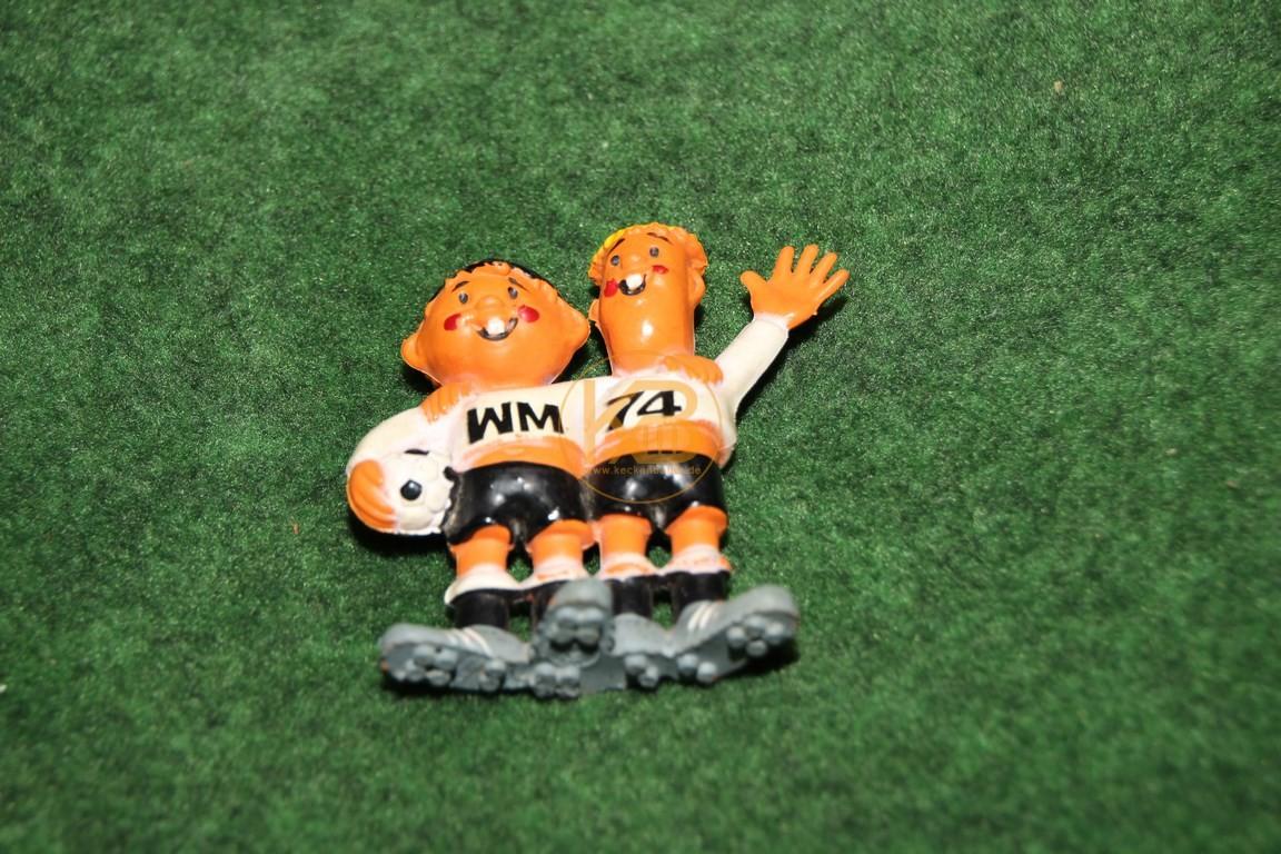Tip und Tap von der WM 1974 in den Deutschland.