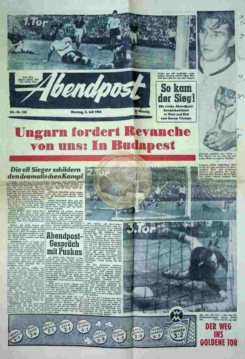 1954 Juli 5. Abendpost