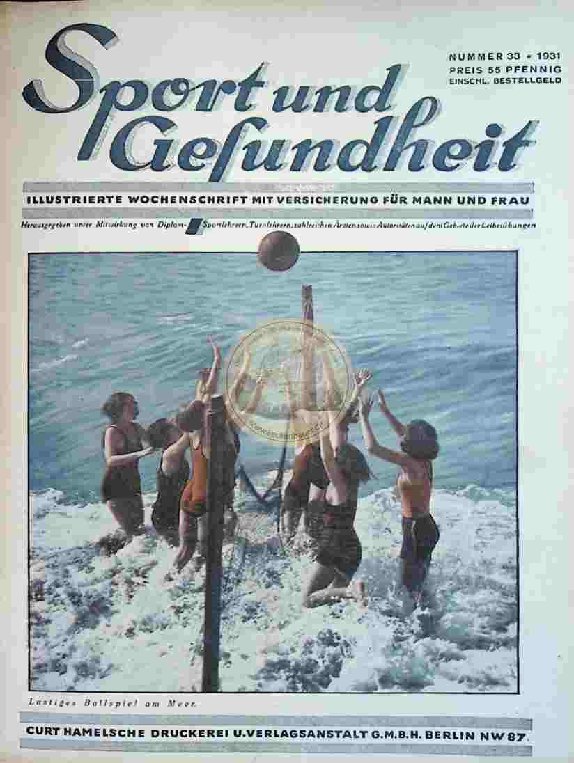 1931 Sport und Gesundheit Nr.33