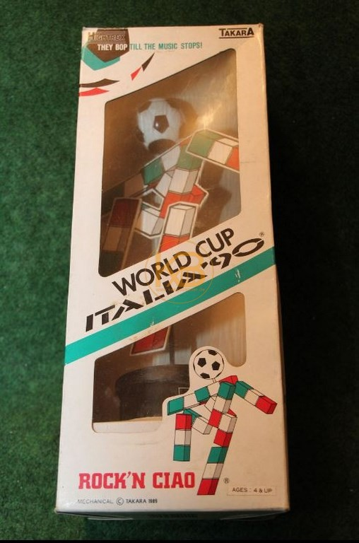 Rock´n Roll CIAO von der WM 1990 in Italien.