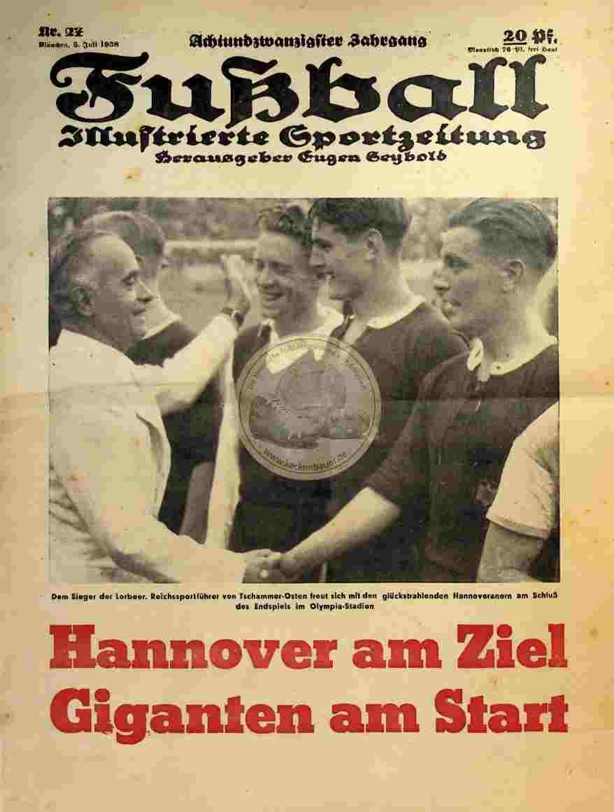 1938 Juli 5. Fußball Nr.27