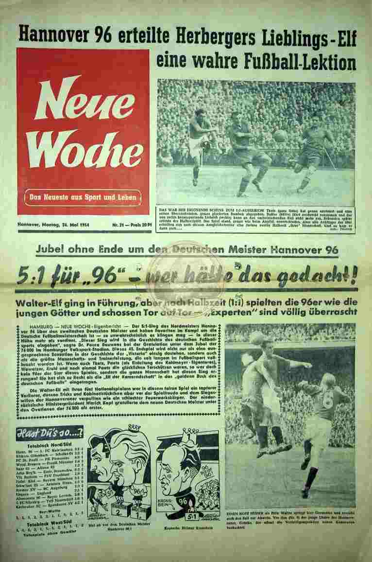 1954 Mai 24. Neue Woche Nr. 21