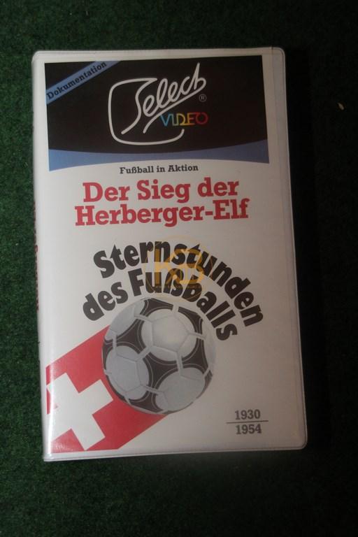 VHS Sternstunden des Fußballs Der Sieg der Herberger Elf