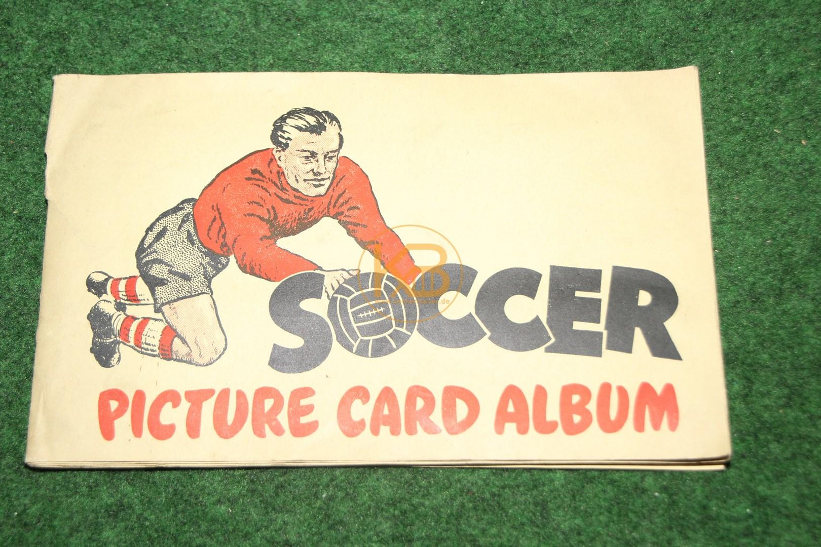 Sammelalbum aus England aus den 1950ern.