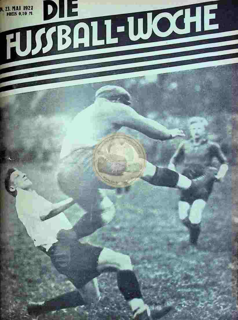 1927 Mai 23. Fussball-Woche Nr. 41
