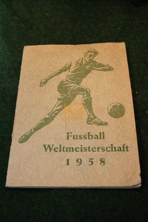 Sammelalbum der Fußball WM 1958 in Schweden natürlich komplett.