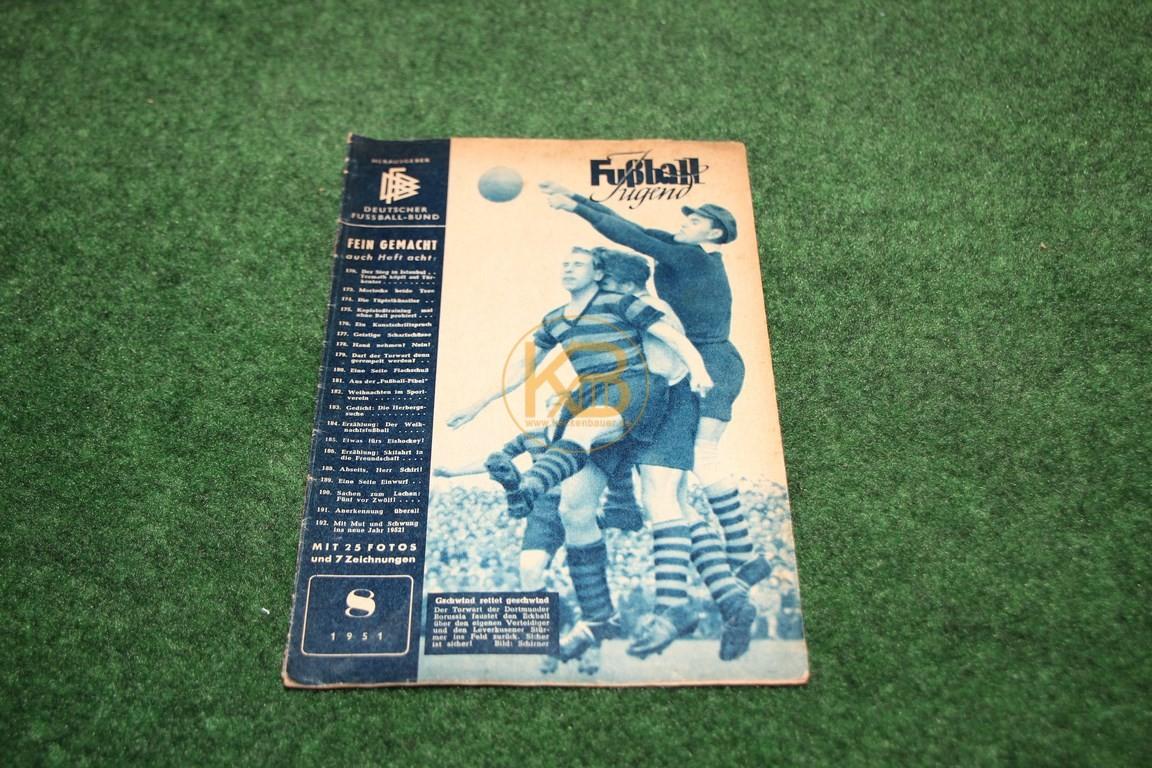 Fußball Jugend August 1951.
