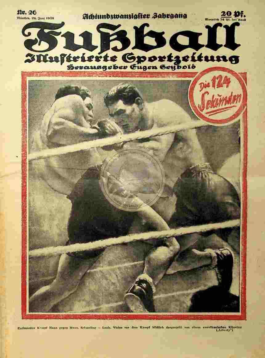 1938 Juni 28. Fußball Nr. 26