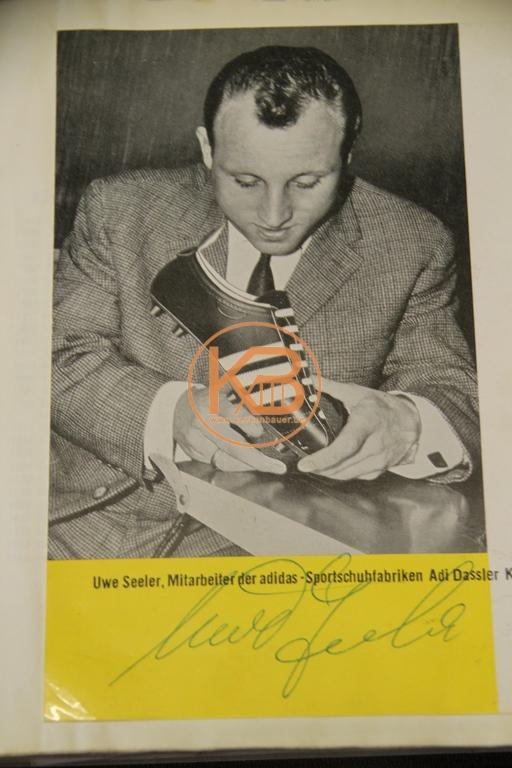 Original Autogramm von Uwe Seeler