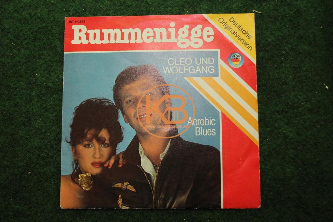 Fußball-Single Rummenigge von Cleo und Wolfgang Deutsche Version