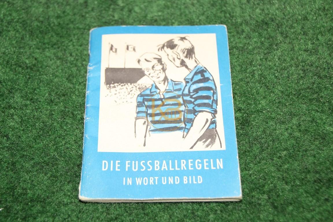 Die Fußballregeln in Wort und Bild