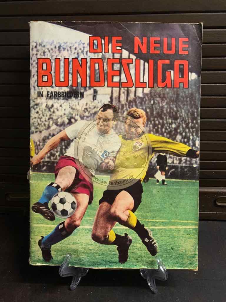 Die neue Bundesliga in Farbbildern aus dem Jahr 1965