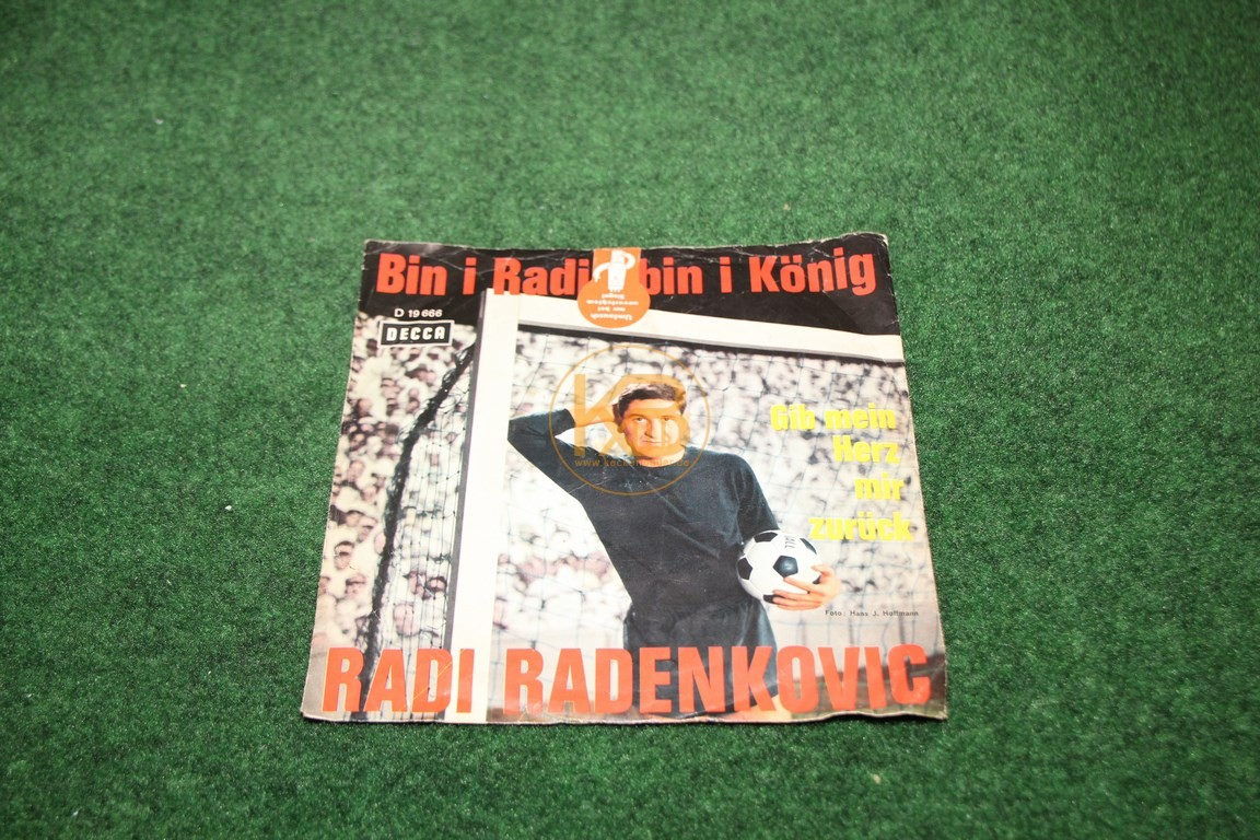 "Single Platte ""Bin I Radi bin I König"""