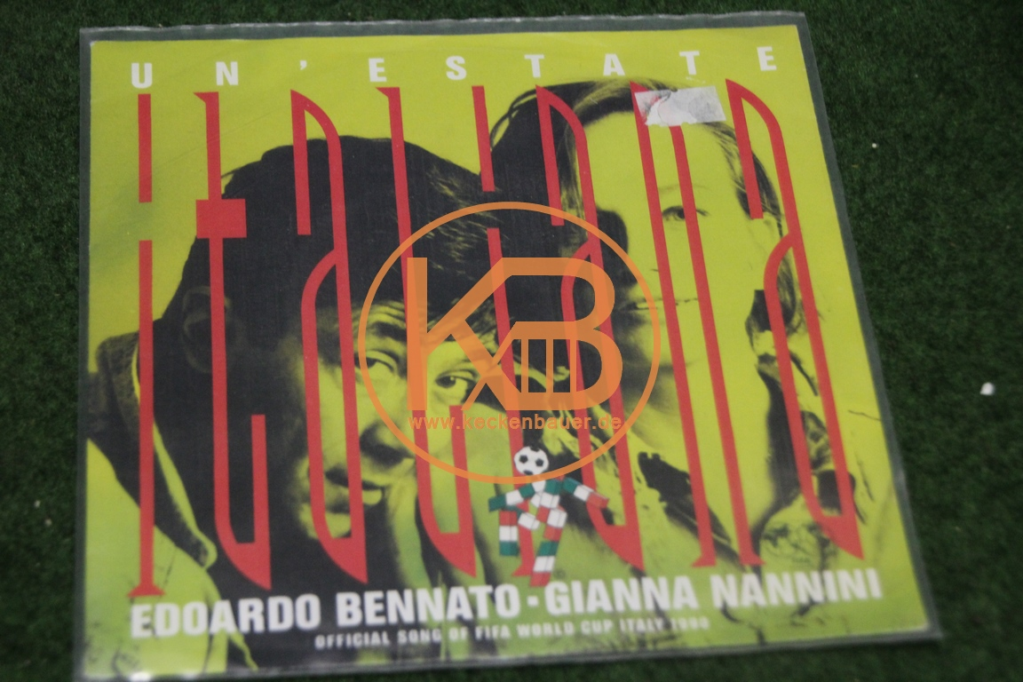 Platte mit Italiana von Edoardo Bennato und Gianna Nannini