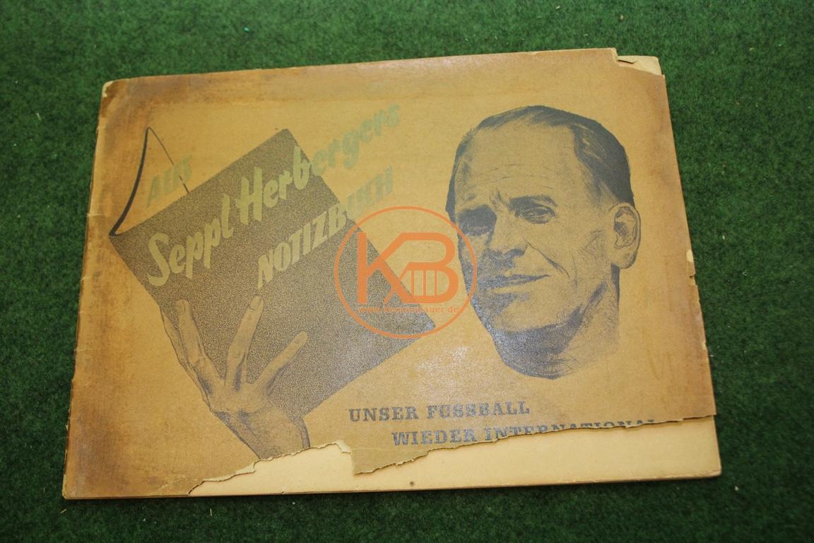 Biox Album Aus Seppl Herbergers Notizbuch 1950/51  komplett