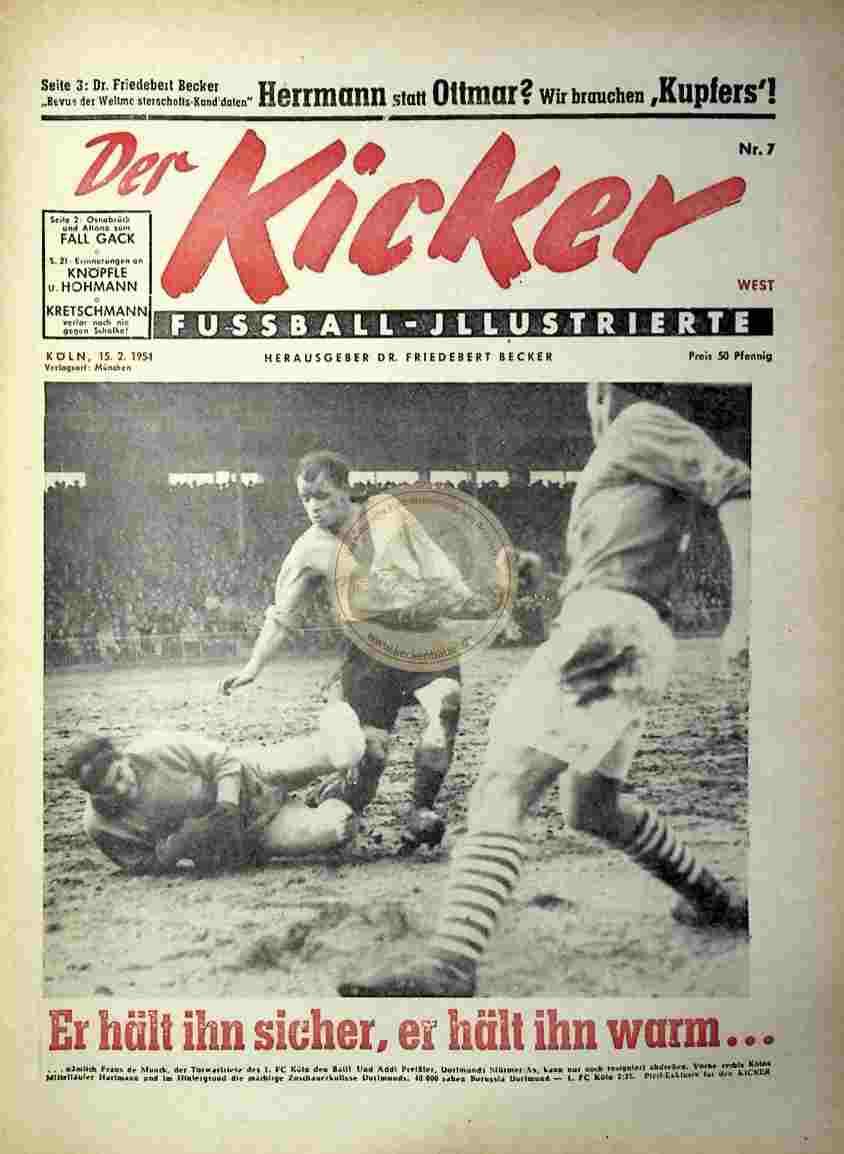 1954 Februar 15. Kicker Nr,7