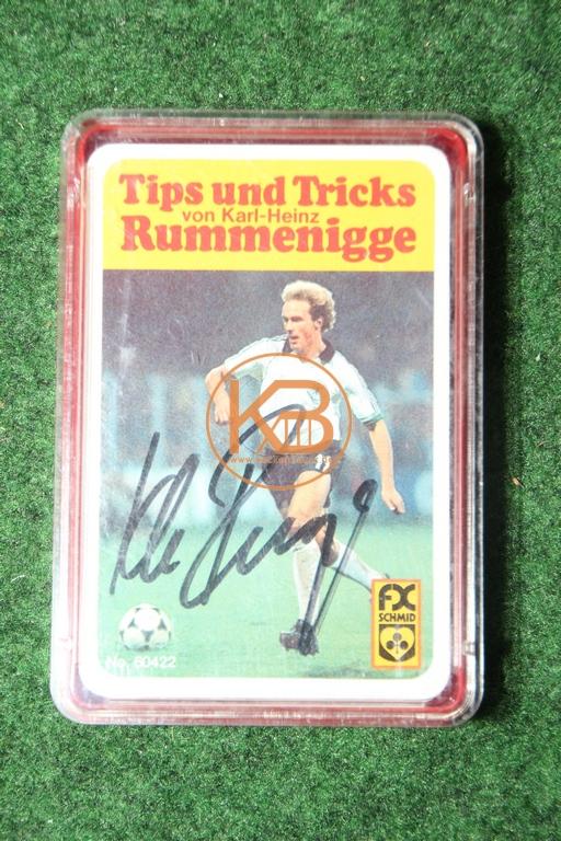 FX Schmid No 60422 Tips und Tricks von Karl-Heinz Rummenigge mit original Autogramm.