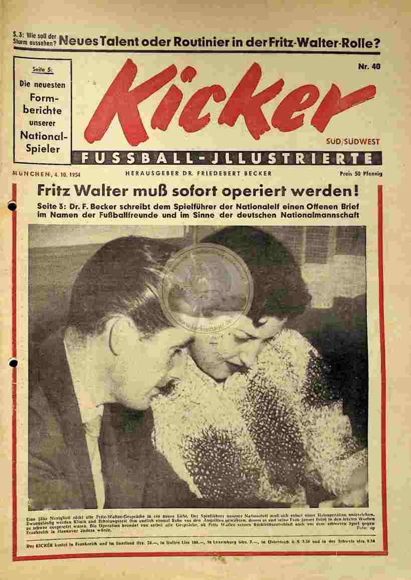 1954 Oktober 04. Kicker Nr.40