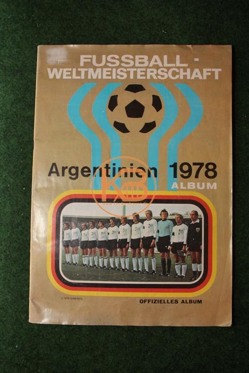 Fußball Sammelalbum Fußball WM  Argentinien 1978