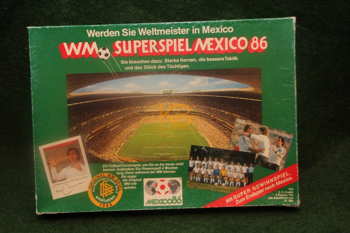 WM Superspiel Mexico 1986.