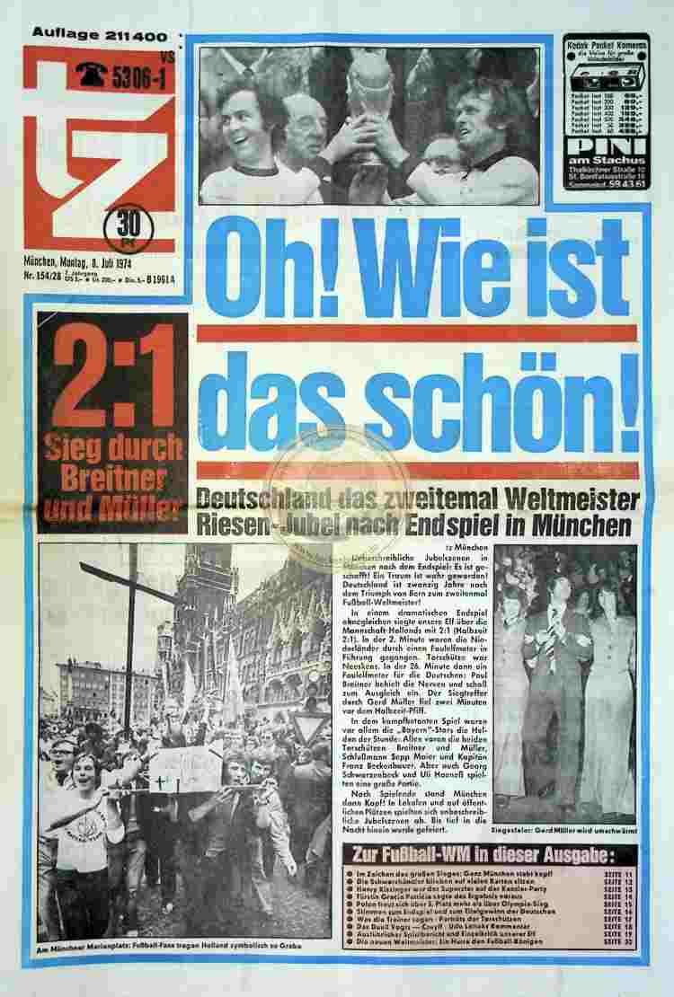 1974 Juli 8. tz München