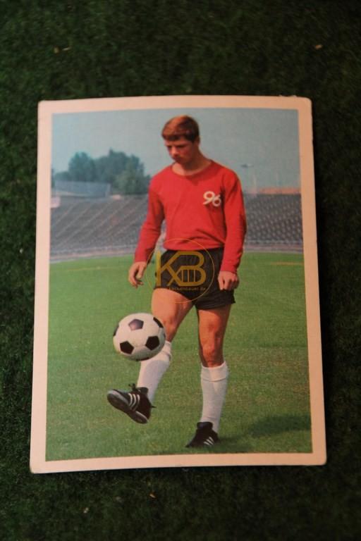 Bergmann Sammelbild von Peter Anders Hannover 96 Saison 68/69.