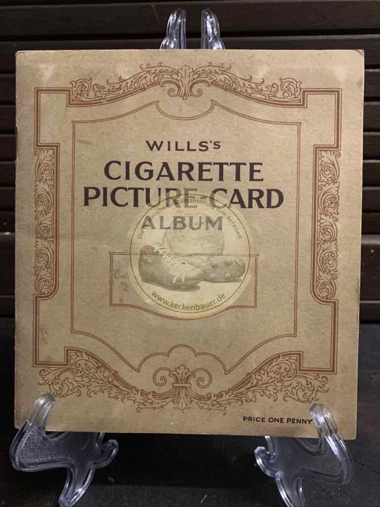 Wills´s Cigarette Picture Card Album vollständig aus dem Jahr 1940
