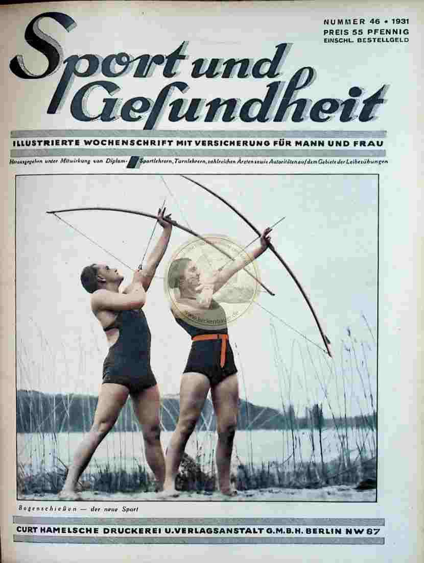 1931 Sport und Gesundheit Nr.46