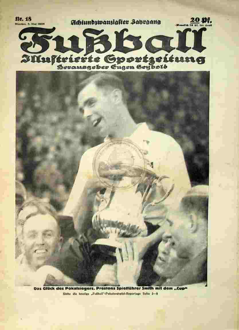1938 Mai 3. Fußball Nr. 18
