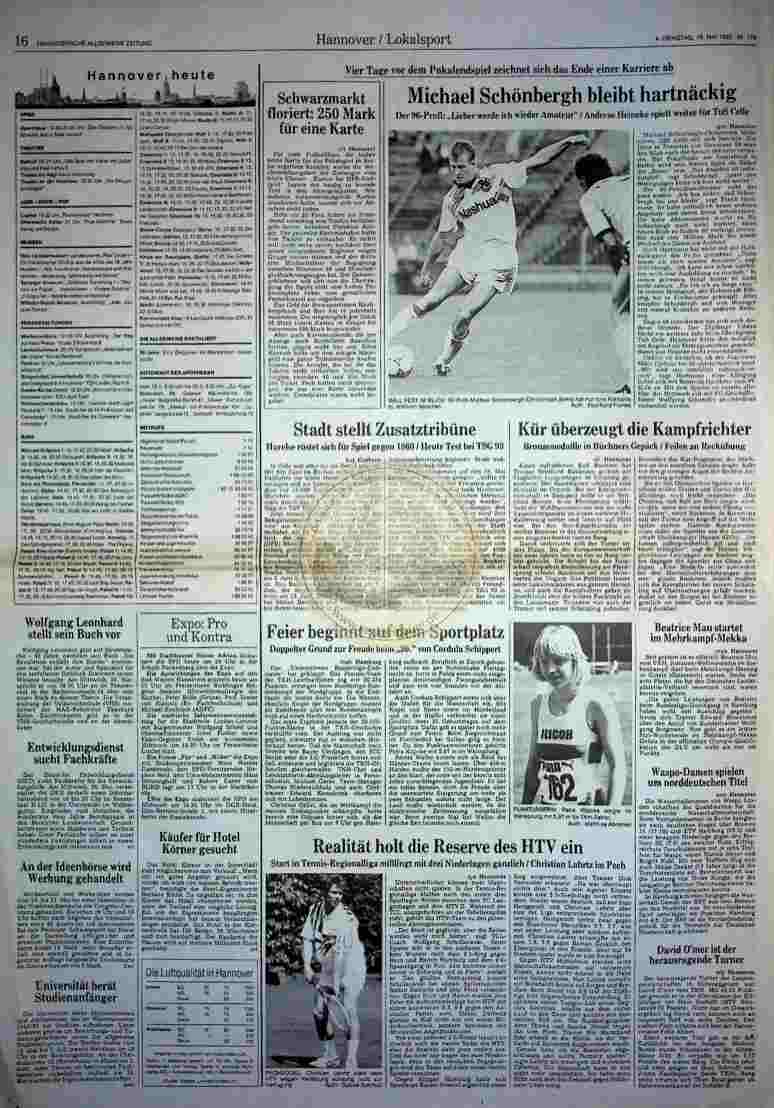 1992 Mai 19. HAZ (Auszug)