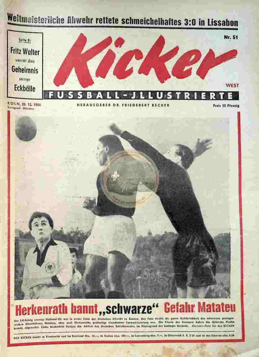 1954 Dezember 20. Kicker Nr.51