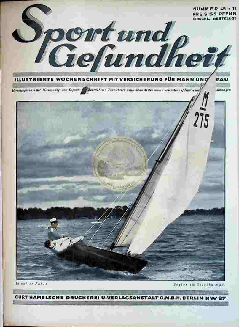 1931 Sport und Gesundheit Nr.45 Titel