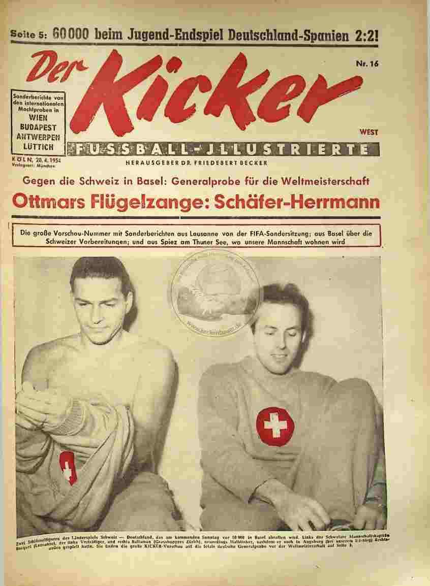 1954 April 20. Kicker Nr.16