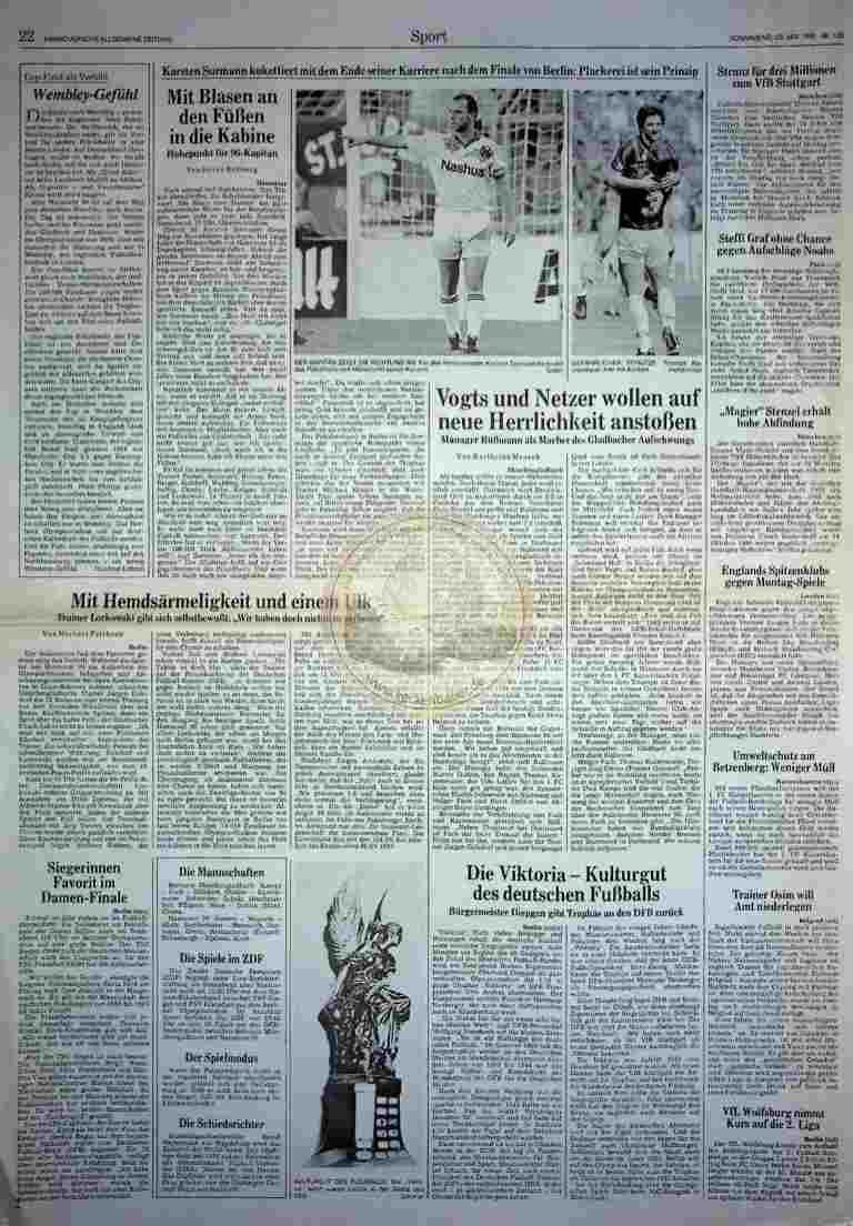 1992 Mai 23. HAZ (Auszug)