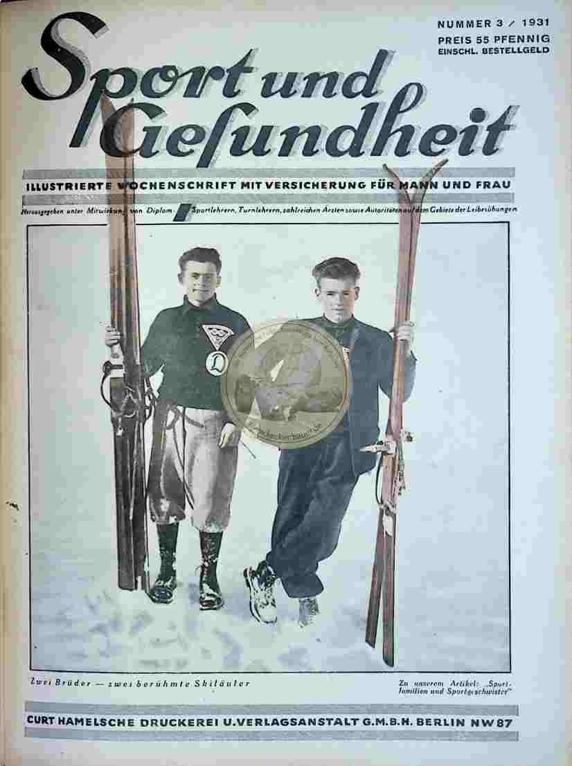 1931 Sport und Gesundheit Nr.3