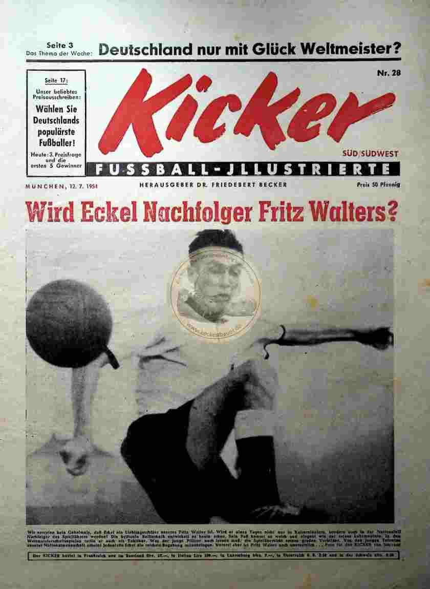 1954 Juli 7. Kicker Nr.28