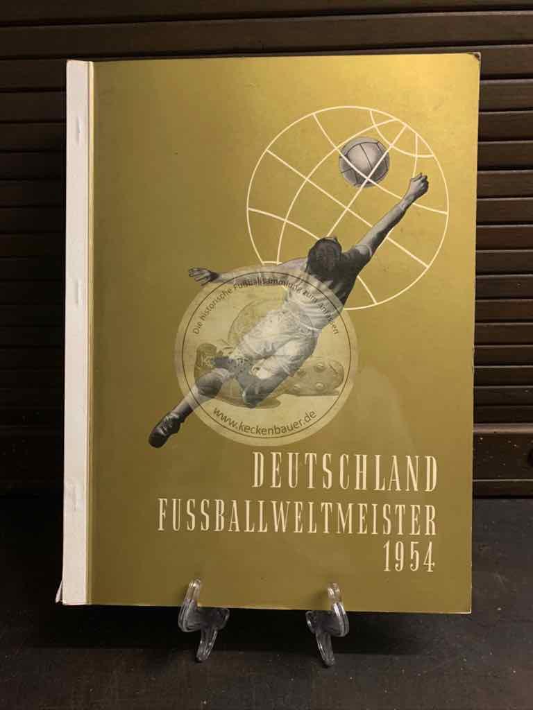 Austria Album WM Schweiz 1954 komplett