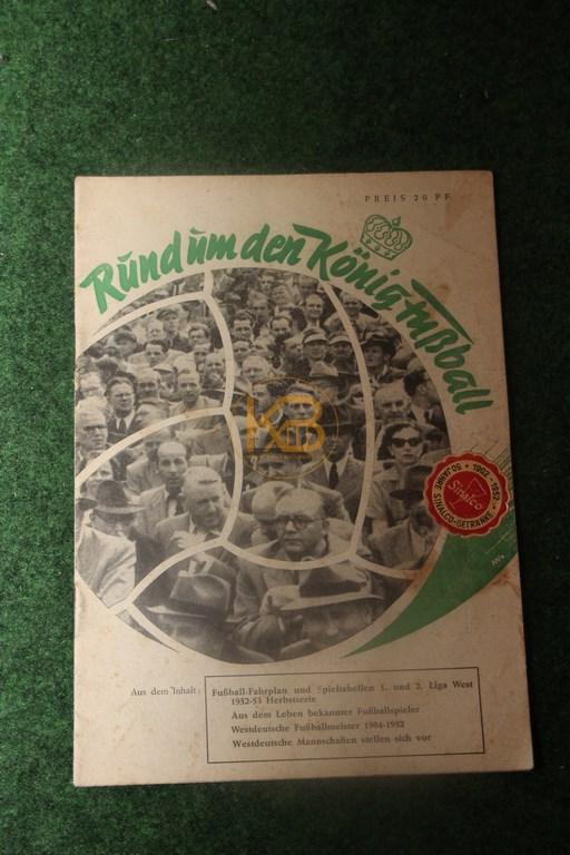 Rund um den König Fußball aus dem Jahr 1953
