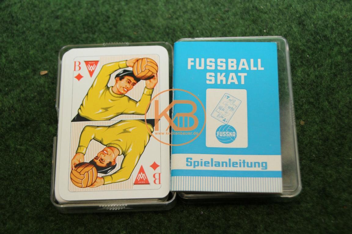 Fußball Skat Kartenspiel von Fusska