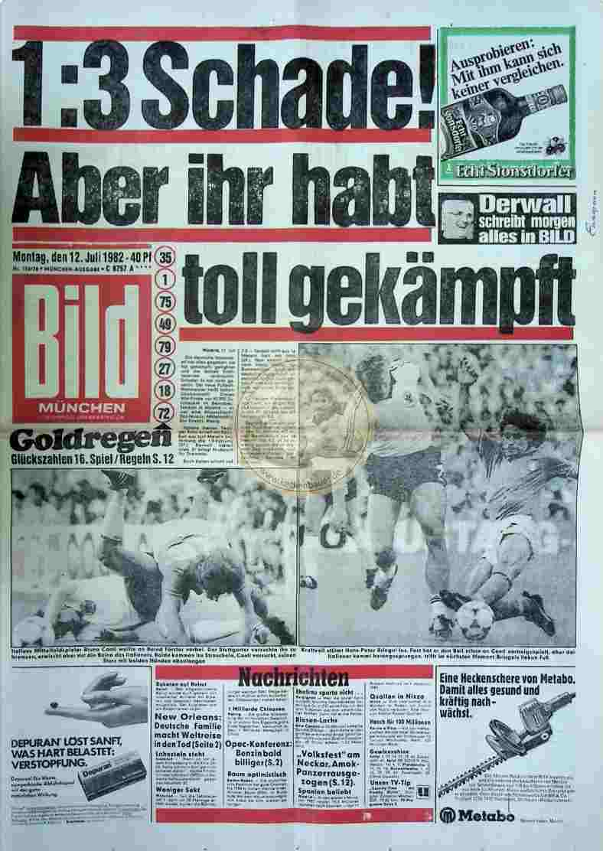 1982 Juli 12. Bildzeitung München