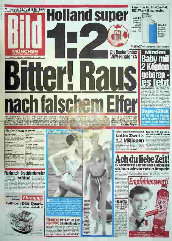 1988 Juni 22. Bildzeitung München