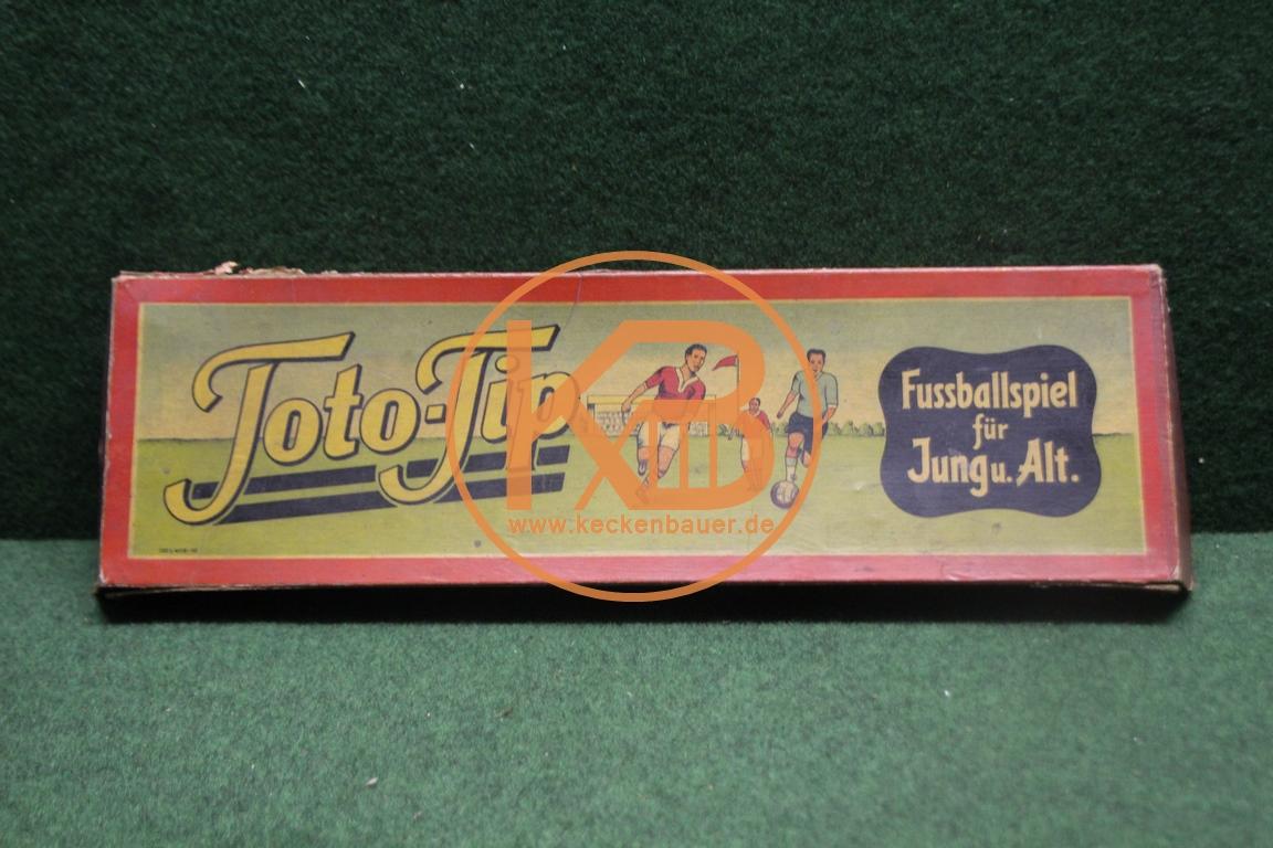 Toto-Tip das Fußballspiel für Jung und Alt aus den 1950ern.