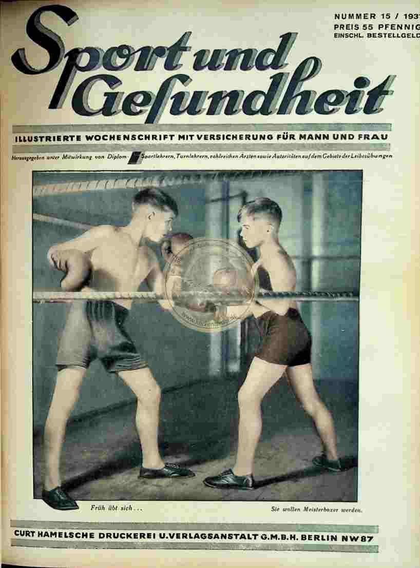1931 Sport und Gesundheit Nr.15