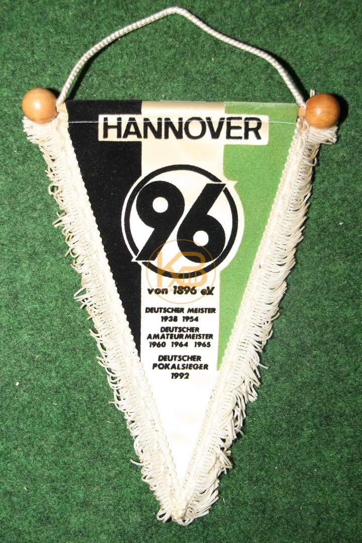 Alter Wimpel von Hannover 96.