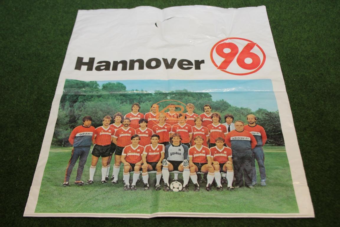 Alte Hannover Plastiktüte aus den 1980er Jahren
