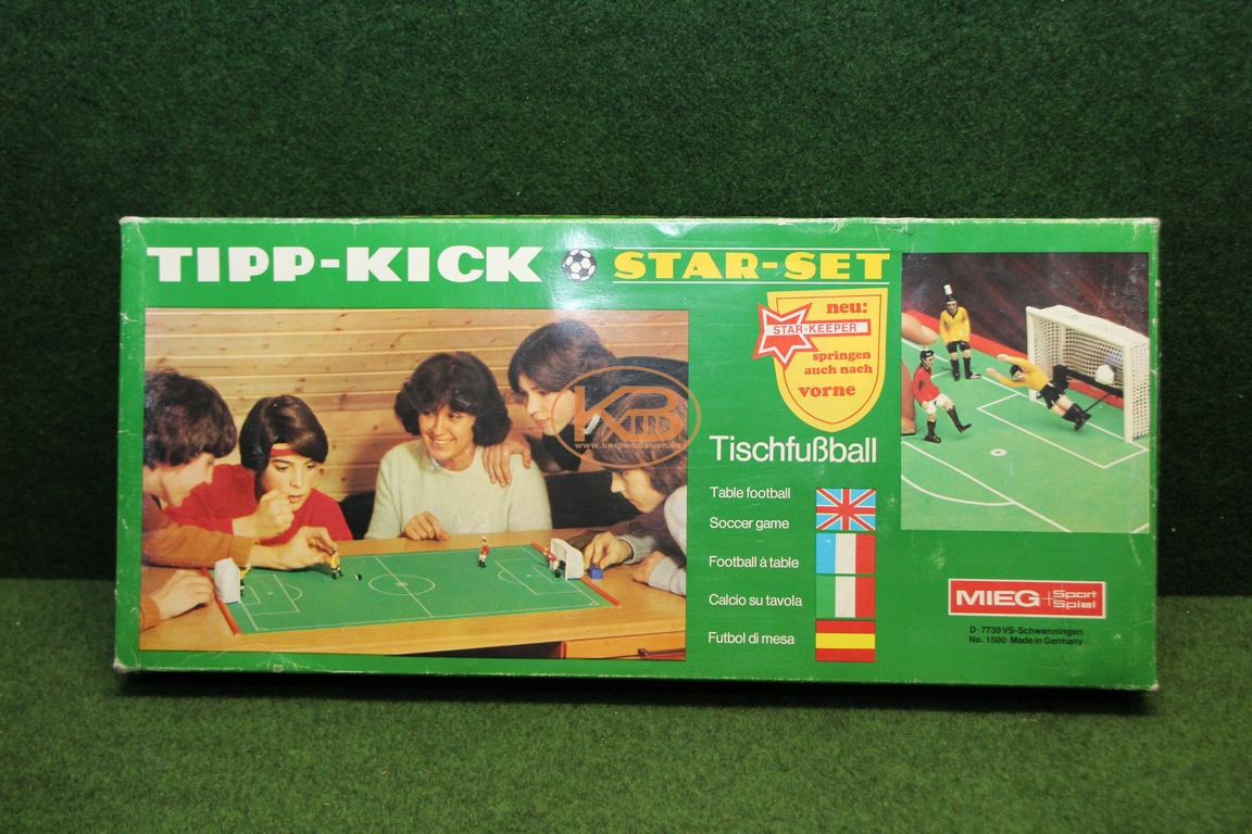 Altes Tipp Kick Star Set aus den 1970ern