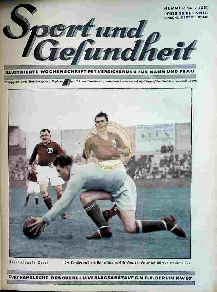 1931 Sport und Gesundheit Nr.14