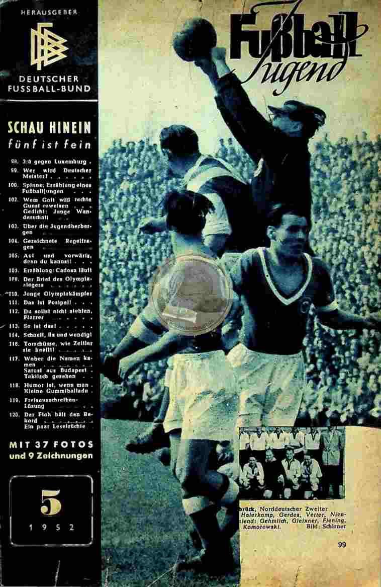 1952 Mai Fußball Jugend