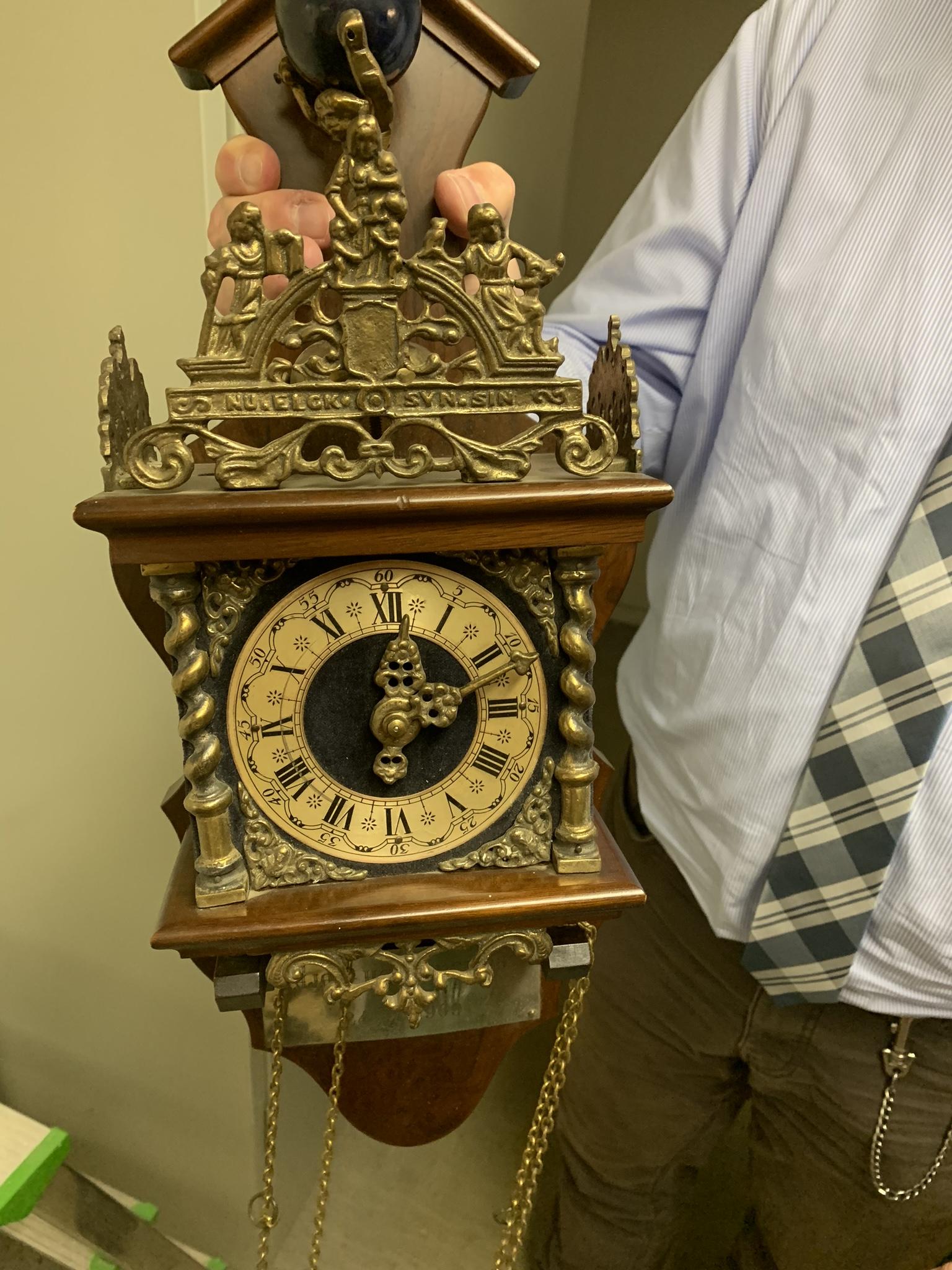 Die Uhr von Hannover96 aus dem Jahr 1969